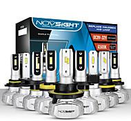 abordables -novsight ampoules de voiture led 2 pièces a500-n15 pour h1-h3-h4-h7-h11-h13-9005-9006-9007 50 w 10000 lm phares à led pour moteurs généraux universels toutes les années avec vidéo de configuration