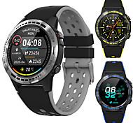 abordables -PM7 Smartwatch Montre Connectée pour Android iOS Samsung Apple Xiaomi Bluetooth 1.3 pouce Taille de l'écran IP 67 Niveau imperméable Imperméable Ecran Tactile GPS Moniteur de Fréquence Cardiaque