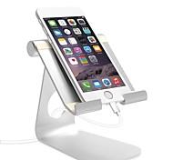 economico -Supporto per cellulare Da scrivania iPad Cellulare Tavoletta Ripiegabile Supporto regolabile Regolabili Lega di alluminio Appendini per cellulare iPhone 12 11 Pro Xs Xs Max Xr X 8 Samsung Glaxy S21