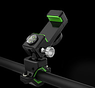 economico -Attacco cellulare per bici Ajustável / Retrattile Antiscivolo 360 Rotating per Bici da strada Mountain bike Bicicletta pieghevole Plastica e metallo ABS + PC Ciclismo Nero Nero / verde 1 pcs