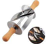 economico -tagliapasta rotante per croissant in acciaio inox tagliapasta 1pz