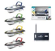 economico -Nave RC 777-218 Barca di controllo remoto Plastica canali KM / H Mini / Creativo