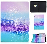 economico -telefono Custodia Per Huawei Integrale Huawei Mediapad T5 10 MatePad T8 Porta-carte di credito Con supporto Con chiusura magnetica Paesaggi pelle sintetica