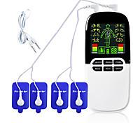 abordables -Tens / EMS double sortie masseur électrique massage impulsion acupuncture corps physiothérapie machine stimulateur musculaire brûleur de graisse ventouses