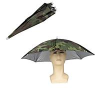 economico -ombrello piegante della cappelleria di pesca dell'ingranaggio della pioggia del piega per la pesca che fa un'escursione i cappelli capi di spiaggia del cappuccio della spiaggia attrezzatura di