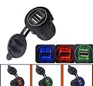 economico -LOSSMANN Motocicletta / Auto Caricatore per auto 2 porte USB per 5 V