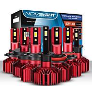 abordables -novsight ampoules de phares LED de voiture 2pcs a500-n11 h1-h3-h4-h7-h11-9005-9006 10000lm (5000lm / ampoule) 60w (30w / ampoule) 6000k phares blancs froids pour moteurs généraux universels toutes les
