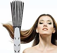 economico -pettine per capelli, pettine per massaggio, pettine per capelli ricci, pettine per capelli lisci (nero)