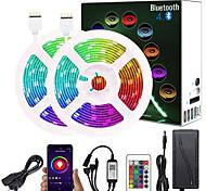 abordables -10m bandes lumineuses LED Ruban LED Flexibles 300 LED SMD5050 Plusieurs Couleurs Décorative Fond de TV Lumières de bande LED Tiktok 12 V