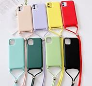 economico -telefono Custodia Per Apple Per retro Silicone Custodia in silicone iPhone 12 Pro Max 11 SE 2020 X XR XS Max 8 7 6 Resistente agli urti Tinta unica Silicone