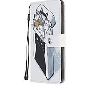 economico -telefono Custodia Per Nokia Integrale Custodia in pelle Nokia 1.3 Nokia 5.3 Con supporto Fantasia / disegno A calamita Floreale Animali pelle sintetica