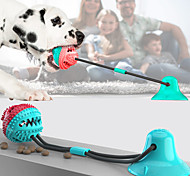 economico -Giochi morbidi Sfera di aspirazione Giocattolo del morso molare dell'animale domestico Rimorchiatore a ventosa Tirare il giocattolo Palla di corda per cani Giocattolo del morso molare Prodotti per