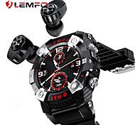 economico -lemfo lemd sport smart watch tws bluetooth auricolare 2in1 360 * 360 hd display 350mah batteria multi-language smartwatch men