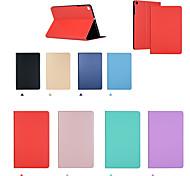 abordables -téléphone Coque Pour Apple Coque Intégrale iPad Pro 11 pouces Ipad Pro 11''2020 Clapet Mise en veille automatique Couleur Pleine faux cuir TPU