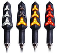 abordables -4 pcs LED Clignotant Lumière Moto Clignotants Construit Relais Clignotant Moto Clignotant Lampe Arrêt Signal Frein Éclairage