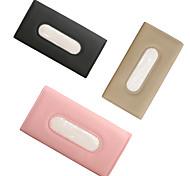 economico -sacchetto di tessuto per auto blocco solare auto multifunzionale in pelle nuova scatola per cassetti auto appesa con tetto apribile creativo