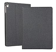 economico -telefono Custodia Per Apple Integrale iPad Air iPad 4/3/2 iPad 10.2''(2019) iPad Pro 10.5 iPad Air 2 iPad Pro 9.7 '' Con chiusura magnetica Auto sospendione / riattivazione Tinta unita pelle