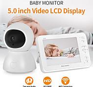 economico -INQMEGA Baby Sleeping Monitor 4.3'' 2 mp Videocamera IP All'aperto Supporto