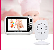 economico -Factory OEM® 0.3 mp Baby Monitor CMOS 65 ° ° C Gamma Night Vision 8 m 0 GHz