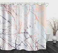 abordables -motif de dérive impression numérique rideau de douche en tissu imperméable pour salle de bain décor à la maison rideaux de baignoire couverts doublure comprend avec crochets