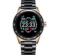 abordables -LG0109 Smartwatch Montre Connectée pour Android iOS Samsung Apple Xiaomi Bluetooth 1.3 pouce Taille de l'écran IP 67 Niveau imperméable Imperméable Ecran Tactile Moniteur de Fréquence Cardiaque