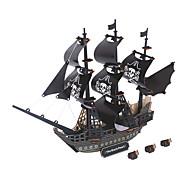 abordables -Perle noire Puzzles en bois Kit de Maquette Maquettes de Bois EPS Enfant Adulte Jouet Cadeau