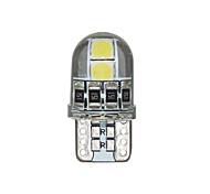 abordables -10 pcs T10 194168 3030 4SMD LED Silicone Intérieur Dôme Carte Lumières Dégagement Lumière Canbus Plaque D'immatriculation Lumière De Voiture Style 12 V