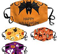abordables -masque d'halloween masque de motif personnalisé masque d'impression de masque de coton anti-poussière
