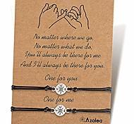 abordables -pinky promise bracelet boussole, bracelets assortis, bracelets de distance, bracelets de relation cadeaux pour les meilleurs amis couples amoureux maman et fille adolescentes garçons femmes hommes