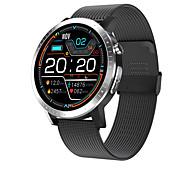 abordables -HRC06 Smartwatch Montre Connectée pour Android iOS Samsung Apple Xiaomi Bluetooth 1.28 pouce Taille de l'écran IP 67 Niveau imperméable Imperméable Ecran Tactile Moniteur de Fréquence Cardiaque