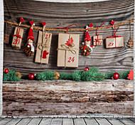 abordables -noël mur tapisserie art décor couverture rideau pique-nique nappe suspendu maison chambre salon dortoir décoration polyester cadeau jeu