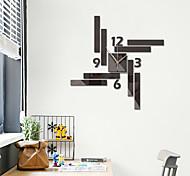 economico -Orologio da parete 3d fai da te orologio con numeri romani orologio da parete specchio senza cornice decorazioni per la casa per soggiorno camera da letto