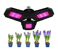 abordables -1 pièces 144 LED trois feuilles pour la culture hydroponique arrière-cour à effet de serre pépinière pliable étanche plantes d'intérieur plante grandir léger jardin semis