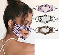 abordables -langage des lèvres pour animaux sourds et muets masques anti-buée d'impression transparents en forme de coeur