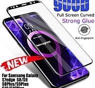 economico -telefono Proteggi Schermo Samsung S9 S9 Plus S8 Plus S8 Nota 9 Vetro temperato 1 pezzo Alta definizione (HD) Durezza 9H A prova di esplosione Proteggi-schermo frontale Appendini per cellulare