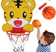 abordables -Balles Jouet de Basketball Jeu de Raquette Panier de basket Ensemble de cerceau de basket Portable Ajustable Sports Basket-ball Intérieur Plastique 3-6 ans Garçons et filles / Enfant