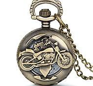 economico -orologio da tasca per moto movimento al quarzo orologio a catena vintage half hunter