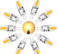 abordables -10 pcs G4 Ampoule LED 3 W Équivalent à G4 Ampoule halogène 30 W Mini G4 Ampoule LED Blanc Chaud Blanc 3000 K Lumière Du Jour 6000 K G4 Base DC 12V