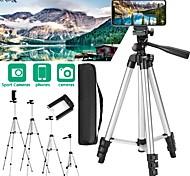 economico -treppiede per fotocamera regolabile per telefono treppiede professionale in alluminio flessibile per fotografia per smart phone fotocamere digitali videocamere dslr slr