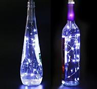 economico -led bottiglia di vino sughero stringa di luce 4 pz 1 pz 2 m 20led elettroplaccatura filo stellato luci stringa per bottiglia fai da te decorazione della tavola festa di nozze di natale