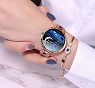 abordables -AQ55 Femme Bracelets Intelligents Bluetooth Moniteur de Fréquence Cardiaque Mesure de la pression sanguine Calories brûlées Santé Cycle physiologique féminin Chronomètre Podomètre Rappel d'Appel