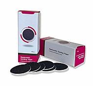 economico -Sostituzione di dischi di carta vetrata 120 pezzi per pedicure con lima per rimozione di calli del piede elettrico (2 x 60 pezzi neri)
