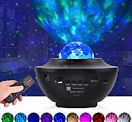 abordables -projecteur de galaxie étoilée led projection d'onde océanique avec haut-parleur de musique bluetooth 8w led 10 couleurs 21 modes d'éclairage niveaux de luminosité réglables avec télécommande-litbest