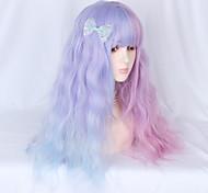 abordables -Non Rose dragée+Violet Sweet Lolita Lolita Ōji (Style Garçon Manqué) Lolita Perruque Lolita  70 pouce Perruques de Cosplay Mode Perruque Perruques d'Halloween