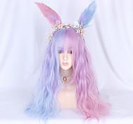 abordables -Non Rose Claire Sweet Lolita Lolita Ōji (Style Garçon Manqué) Lolita Perruque Lolita  65 pouce Perruques de Cosplay Mode Perruque Perruques d'Halloween