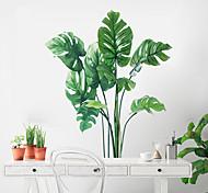 economico -adesivi murali floreali / botanici adesivi murali aerei adesivi murali decorativi, decorazione domestica in pvc decalcomania murale decorazione murale 1pc 70 * 60cm