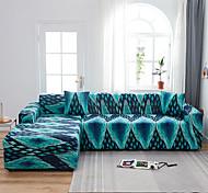 economico -copridivano elasticizzato fodera per divano stampato punto blu per 1 ~ 4 cuscino divano con una federa per cuscino gratis poltrona / divanetto / tre posti / quattro posti / divano a forma di l