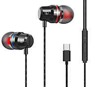 """economico -1898 6 Auricolari in-ear cablato """"Jack audio da 3,5 mm"""" Stereo Dotato di microfono Con il controllo del volume per Apple Samsung Huawei Xiaomi MI Sport Fitness"""