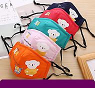 abordables -masque pour enfants en coton pm2.5 brume respirante anti-poussière de bande dessinée épaissie