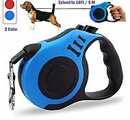 economico -guinzaglio per cani retrattile [$ 12,95 → $ 8,99] aggiornato senza grovigli a 360 ° per cani o gatti di taglia media e piccola, corda in nylon resistente e durevole di 16 piedi (5 m), freno con una